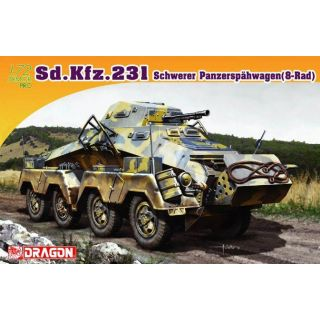 Model Kit military 7483 - Sd.Kfz 231 (1:72)