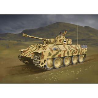 Model Kit tank 7508 - Berge-Panther mit aufgesetztem Pz.Kpfw.IV Turm als Befehlspanzer (1:72)