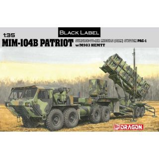 Model Kit military 3558 - MIM-104B PATRIOT (1:35)