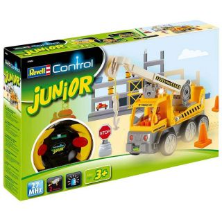 Autíčko REVELL 23002 JUNIOR - Crane Truck - 27 MHz