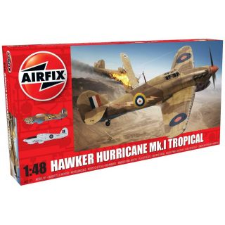 Classic Kit letadlo A05129 - Hawker Hurricane Mk1 - Tropical (1:48)