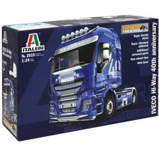 "Model Kit truck 3919 - IVECO ""HiWay"" 40th Iveco Anniversary (1:24)"