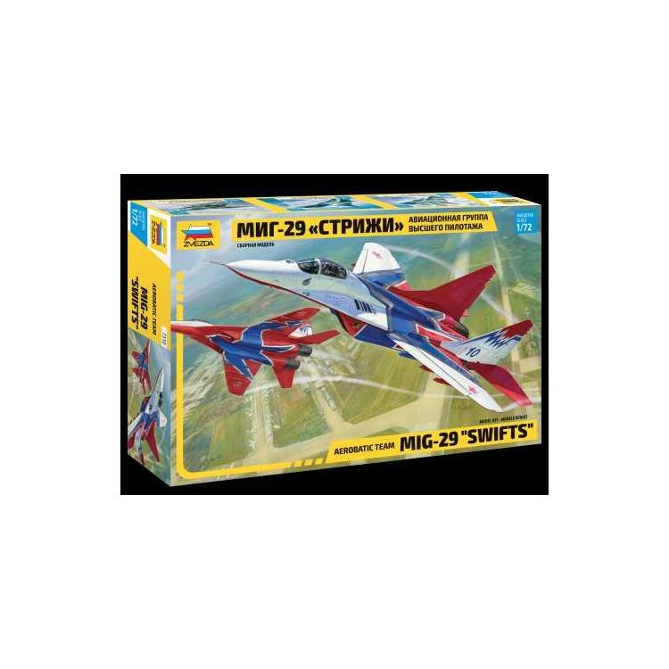 "Model Kit letadlo 7310 - MIG-29 ""Swifts"" (1:72)"
