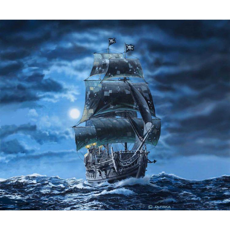 Plastic ModelKit loď Limited Edition 05699 - Black Pearl (1:72)