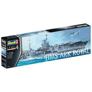 Plastic ModelKit loď 05149 - HMS Ark Royal & Tribal Class Destroyer (1:720)
