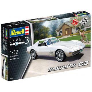 Plastic ModelKit auto 07684 - Corvette C3 (1:32)