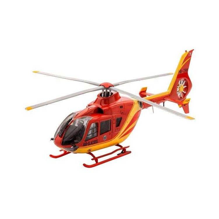 ModelSet vrtulník 64986 -  EC 135 Air-Glaciers (1:72)