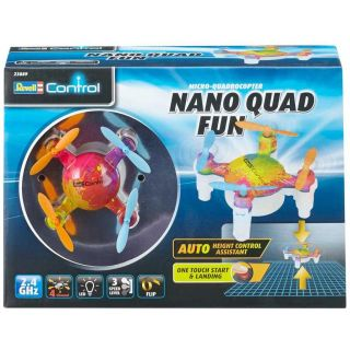 Kvadrokoptéra REVELL 23889 - NANO QUAD FUN - barevná