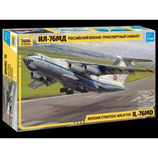 Model Kit letadlo 7011 - Russian strategic airlifter IL-76MD (1:144)