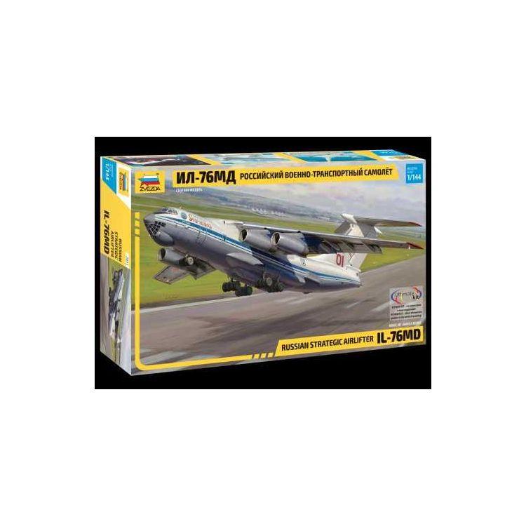 Model Kit letadlo 7011 - Russian strategic airlifter IL-76MD (1:144)