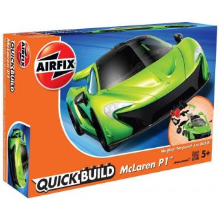 Quick Build auto J6021 - McLaren P1 - zelená