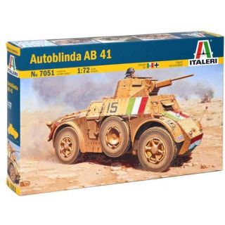 Model Kit military 7051 - AUTOBLINDA AB41 (1:72)
