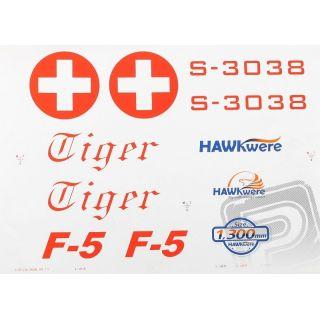 F-5E Tiger - arch polepů, (Swiss Tiger)