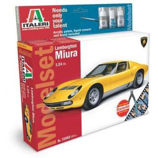 Model Set auto 72002 - LAMBORGHINI MIURA (1:24)