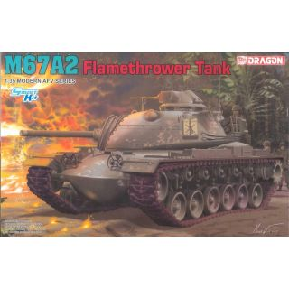 Model Kit tank 3584 - M67A2  Flamethrower Tank (1:35)