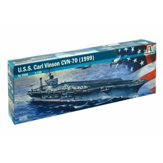 Model Kit loď 5506 - U.S.S. CARL VINSON CVN-70 (1999) (1:720)