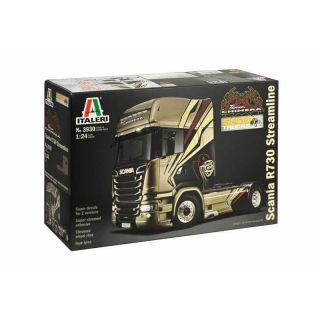 "Model Kit truck 3930 - SCANIA R730 STREAMLINE ""TEAM CHIMERA"" (1:24)"