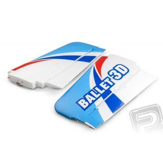 BALLET 3D - Krídla (vr. 2 serv)