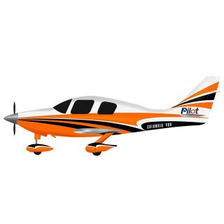 Columbia 400 scale 30% (3 250 mm) 50cc (oranžovo/bílá)