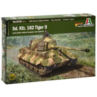 Model Kit tank 15765 -Sd. Kfr. 182 Tiger ll (1:56)