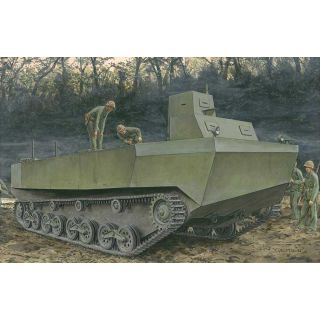 "Model Kit military 6839 - IJN Special Type 4 ""Ka-Tsu"" Amphibious Tracked Vehicle (1:35)"