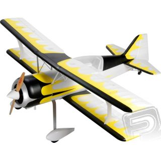 Pitts Python V2 KIT bez motoru (žluto/bílý)