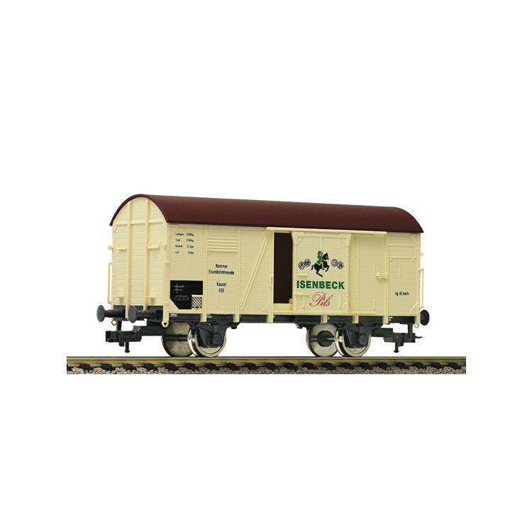 Nízkostenný vagón s nákladom auta X 05, DB