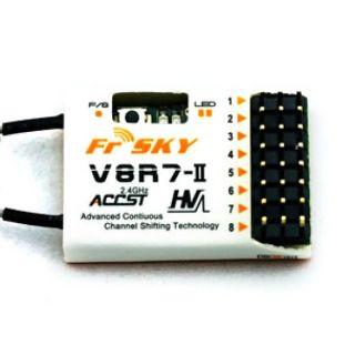 FrSky : Prijímač FrSky V8R7-II 7CH 2.4GHz (HV)