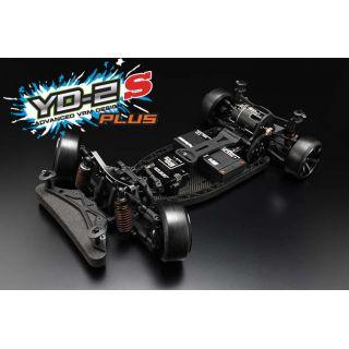 Yokomo YD-2S PLUS RWD 1:10 Kit driftovacího podvozku (grafitové šasí)