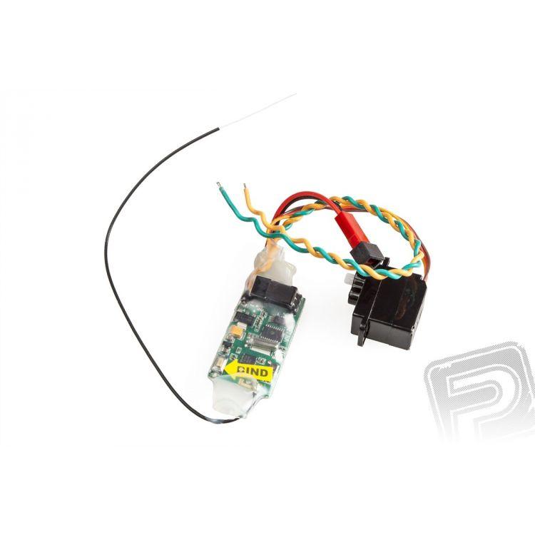 Magic Cat - elektronika (ESC, RX 2,4GHz, Servo)