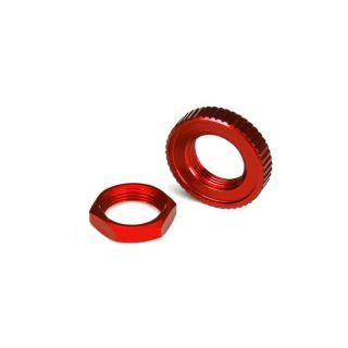 4-Tec 2.0: Hliníkový servosaver červený