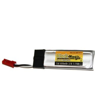 LiPol Black Magic 3.7V 600mAh 25C JST