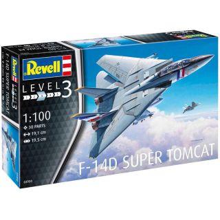 Plastic ModelKit letadlo 03950 - F-14D Super Tomcat (1:100)