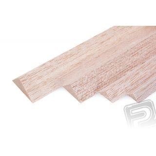 Trojuholníková lišta 10x10x1000mm