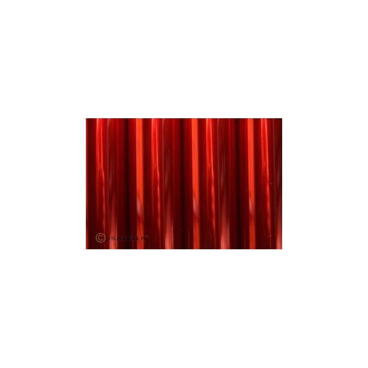 ORACOVER 2m Transparentní červená (29)