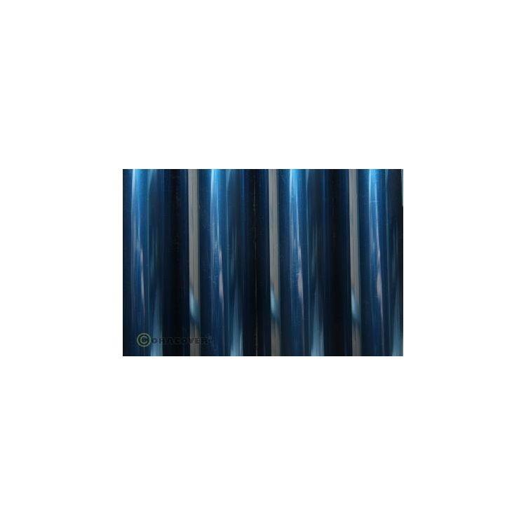 ORACOVER 2m Transparentní modrá (59)