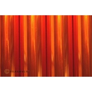ORACOVER 2m Transparentné oranžová (69)