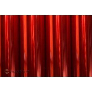 ORACOVER 10m Transparentné červená (29)