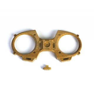 MZ-12 přední čelo, vypínač - (imitace dřeva)