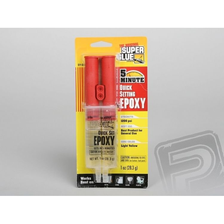 Super Glue EPOXY 5min 28,3g (1oz) 5min. epoxy v dávkovači