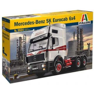 Model Kit truck 3924 - MERCEDES-BENZ SK EUROCAB 6x4 (1:24)