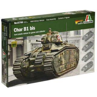 Model Kit tank 15766 - CHAR B1 BIS (1:56)