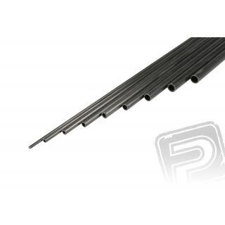 Uhlíková trubička 6x4m 1m
