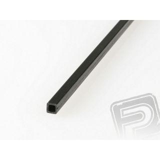 Uhlíkový hranol dutý 4mm / 3mm 1m