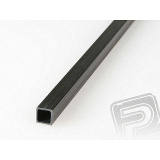 Uhlíkový hranol dutý 8mm / 7mm 1m