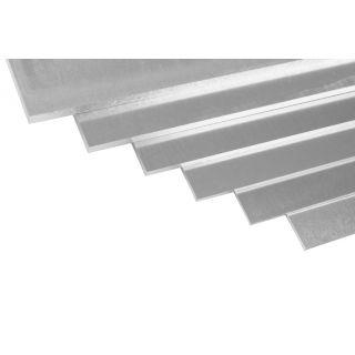 Duraluminium plech 500x250x2,0 mm