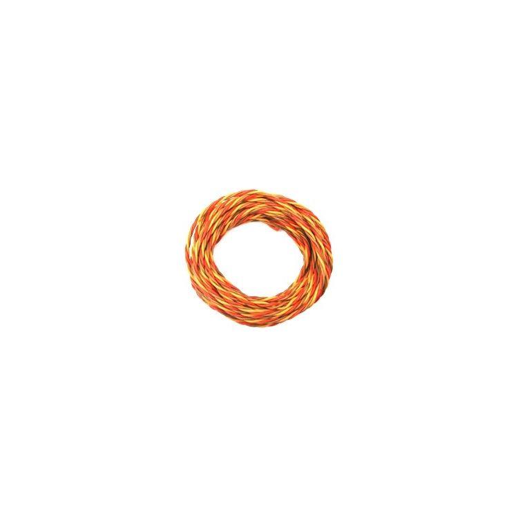 Kabel třížilový silikonový kroucený tlustý JR 0.5mm2