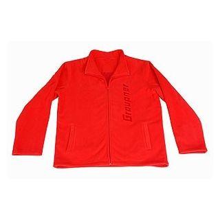 Fleece bunda GRAUPNER červená XL