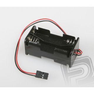 JR071 Puzdro pre 4 tužkové batérie (AA) JR