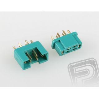 7925/5 MPX konektor zelený 5 párov